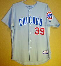 Chicago Cubs Matt Sinatro Gray Button-Down Mlb Jersey