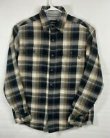 Marmot For Life Long Sleeve Light Flannel Button Shirt Plaid Mens Size M