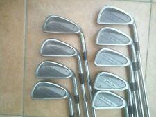 Refurbed Wilson 1200 GE irons 3-S Tour steel shaft. New grips. PGA Pro seller