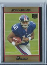 2007 Bowman Steve Smith Gold Rookie!!! #156 (Giants) Look!!! Hot!!!