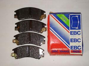 EBC SET OF  FRONT BRAKE PADS FOR SUBARU SERIES 1, 2 & L (582)