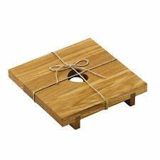 Dessous de plats en bois