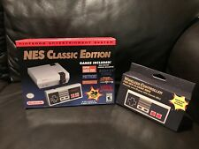 Nintendo NES Classic Mini Edition Modded w 850+ Games and Wireless Controller
