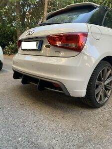 Rear Wings Bumper Audi A1 S-line