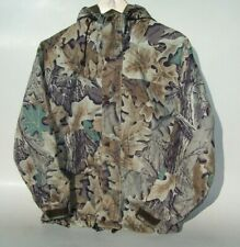 Cabela's Men's Small S Reg Gore-tex Nylon Jacket Advantage Oak Camo Made in USA