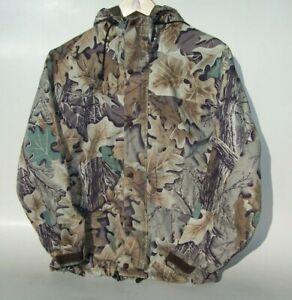 Cabela's Men's Small S Reg Gore-tex Nylon Jacket Advantage Oak Camo Made in USA