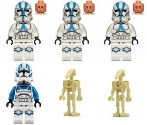 New Lego 501st Legion Clone Troopers (75280) - ONLY mini figures w/ accessories