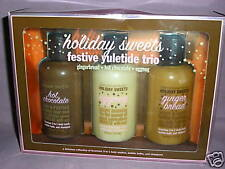 Bath & Body Works~HOLIDAY SWEETS~3 in 1 Shower Get Trio