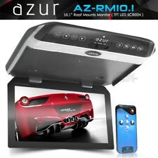 "Azur RM10.1 Car 10.1"" Roof Mount Flip Down TFT LCD Screen Overhead DVD Monitor"