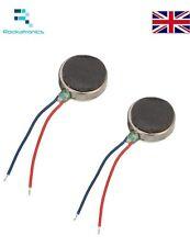X2 Two Coin Flat Button-type Vibrators Voltage: 1.5-3VDC Current: 0.05-0.1A