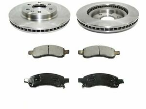 For 2009-2017 Chevrolet Traverse Brake Pad and Rotor Kit Front 69637ZR 2011 2013
