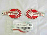 Harley Davidson Tank Embleme Tankembleme Tankschilder mit Adapter Kit 61775-59T