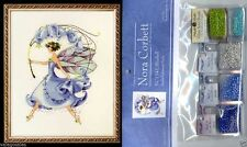Mirabilia Cross Stitch Chart with Embellishment Pack ~ BLUEBELL #134 Sale