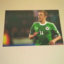 MAX KRUSE DFB 14 Länderspiele signed signiert In-Person Photo 20x30 W. Bremen