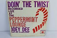 Joey Dee And His Starliters - Doin' The Twist - Roulette , LP Peppermint Lounge