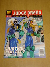 2000AD MEGAZINE #12 VOL 3 JUDGE DREDD*