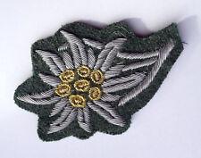 WW2 German Wehrmacht Heer Mountain Troop Edelweiss Cap Patch