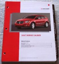 NEW 2007 DODGE CALIBER / RT DEALER ONLY SALESPERSON PRODUCT LITERATURE BROCHURE!