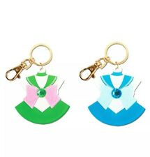 Sailor Moon Sailor Jupiter & Sailor Mercury Acrylic Keychains *AUTHENTIC NEW*