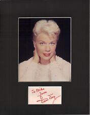Doris Day Signed Autographed Cut Matted 11x14 w/COA 073019DBT2