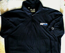 Under Armour Heat Gear Polo Shirt University Of Dubuque Spartans Lg L Black iowa