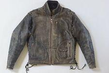 Harley Davidson Men Vintage 90's PANHEAD Convertible Brown Leather Jacket Vest M