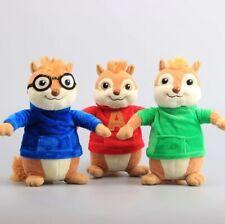 Alvin and the Chipmunks Peluche 22 cm. Pupazzo Cartoni Regalo