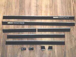 96-99 Molding Panel Door Rear Quarter Oem Emblem suburban yukon Gmc  Used  Slt