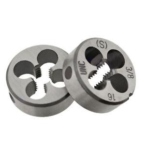 Alloy Steel UNC Threading Screw Thread Die Hand Tap 1/2,1/4,3/8,5/16,4#,6#8#,10#