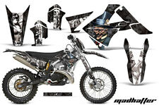 AMR Racing Gas Gas EC 250/300 Number Plate Graphics Kit Bike Decals 11-12 MH BLK