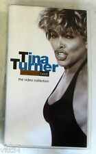 TINA TURNER - SIMPLY THE BEST THE VIDEO COLLECTION - VHS Nuova Unplayed