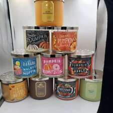 Bath & Body Works Autumn 2020 Candles