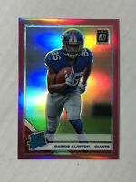 DARIUS SLAYTON 2019 Donruss Optic PINK PRIZM SP RC REFRACTOR #188! HUGE SALE!