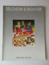 SELCHOW & RIGHTER 1987 TOY / GAME CATALOG Scrabble Parcheesi Trivia Pursuit