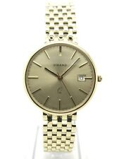 STRAND 9ct Gold Mens Dress Watch - Quartz - Yellow Gold - 12 Month Warranty