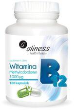 Nouvelle annonce Premium Vitamine B12 - 1000µg - 100 Végétalien Gélules - Méthylcobalamine -