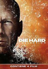 Die Hard Collection (4 DVD + Disco Bonus) Cofanetto Quadrilogia - Bruce Willis