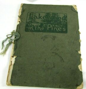 Lakewood In The Pines 1909 NJ Historical Illustrations Softcover Board Of Trade