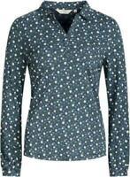 BN SEASALT Elmwood 'Floral Verse Granite' Cotton Top Shirt Blouse 8 14 18 £19.99