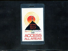 Earth Wind & Fire - Touch of the World Tour 1988-Laminate Access All Areas pass