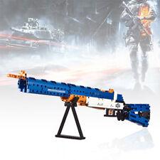 583Pcs Puzzle Building Blocks M1 Gun Assembled Blocks Shotgun Toy w/ Bullet Gift