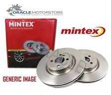 NEW MINTEX FRONT BRAKE DISCS SET BRAKING DISCS PAIR GENUINE OE QUALITY MDC1385