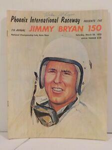Phoenix International Raceway 7th Annual Jimmy Bryan 150 AJ Foyt Signature 1970