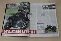 Motorrad News 2023) Honda VTR 250 ED mit 30PS im Fahrbericht auf 2 Seiten