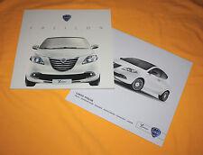 Lancia Ypsilon 2011 Prospekt Brochure Depliant Prospect Catalog Folder Broschyr