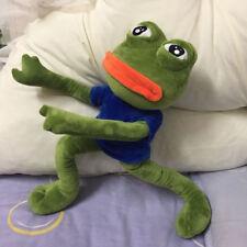 18'' Pepe The Frog Sad Frog Plush 4chan Kekistan Meme Doll Stuffed Toy