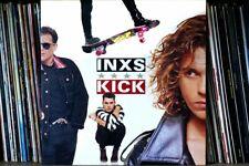 More details for inxs kick lp album front cover photograph picture art print