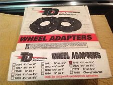 Set Of 2 Trans-Dapt #7075 Wheel Adapters. New In Box