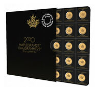 2020 Canada Gold 1 Gram Maple Leaf .9999 Fine from maple gram sheet