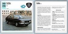 Tatra - 613 - 1969-90 Luxury Collectors Club Card
